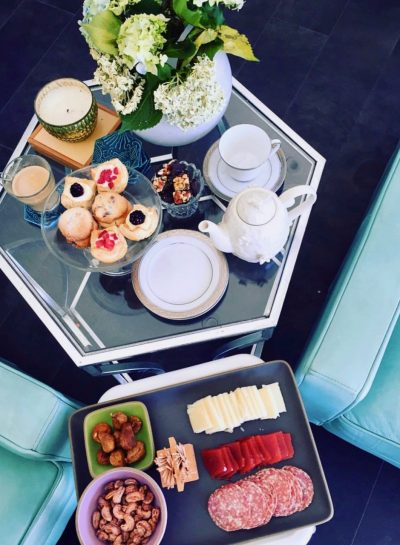 Time is of the essence with an afternoon tea fete for two!